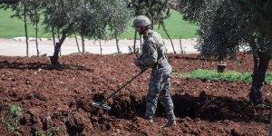 Afrin'de 10 günde 95 adet mayın ve el yapımı patlayıcı imha edildi