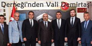 Adıyamanlılar Derneği'nden Vali Demirtaş'a Ziyaret..