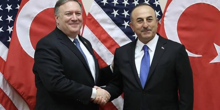 Dışişleri Bakanı Çavuşoğlu, Mike Pompeo ile görüştü