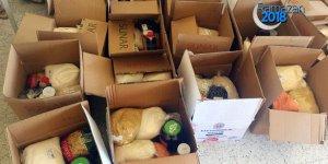 Atıklar muhtaç ailelere ramazan kolisi olarak döndü