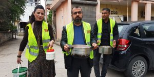 Adana Büyüksaat Çorbacısında 'Askıda Yemek' Uygulaması..