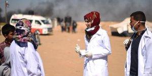 İsrail askerlerince şehit edilen Gazze'nin 'yardım meleği Rezzan'