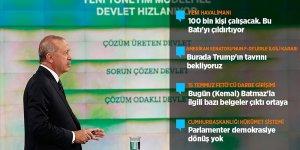 Cumhurbaşkanı Erdoğan: Seçimin asla kazası olmaz