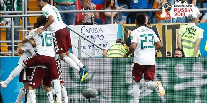 Meksika Güney Kore'yi yenerek puanını 6'ya çıkardı