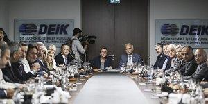 DEİK yönetimi, Ticaret Bakanı Ruhsar Pekcan başkanlığında toplandı