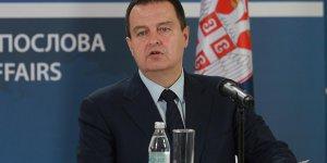 Dacic: Sırbistan Türkiye'ye karşı bir koalisyonun içinde yer almayacak
