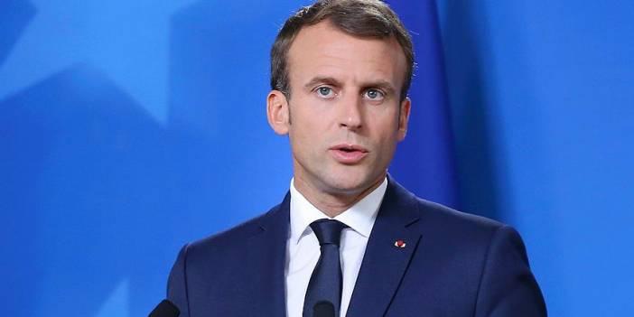 Macron: Esed rejiminin İdlib'de sivil halka düzenlediği saldırıları şiddetle kınıyorum