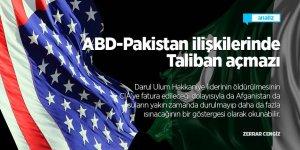 ABD - Pakistan ilişkilerinde Taliban açmazı
