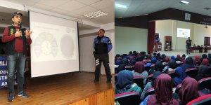 Erdemli'de öğrencilere güveli internet anlatıldı