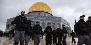 İsrail polisinden Kubbetu's Sahra'ya baskın