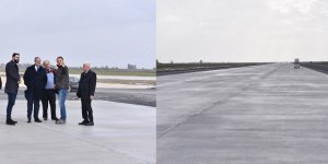 Çukurova Bölgesel Havalimanı inşaatında inceleme