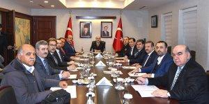 Vali Demirtaş'dan 'Seçim Güvenliği' Toplantısı..