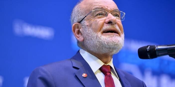 Saadet Partisi Genel Başkanı Karamollaoğlu'ndan seçim değerlendirmesi
