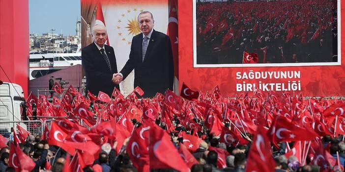 Cumhur İttifakı'nın 'Büyük İstanbul Mitingi' başladı