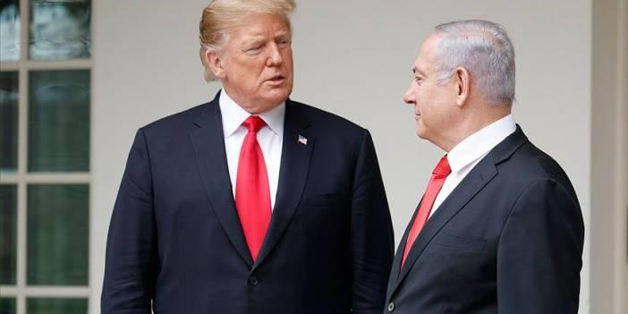 Trump'tan 'İsrail koalisyon hükümeti' açıklaması
