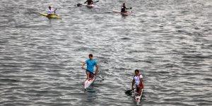 Gloria Canoeing Cup 2020 Yarışları Antalya'da yapıldı