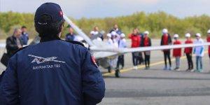 Çocuklar 'SİHA pilotu' oldu