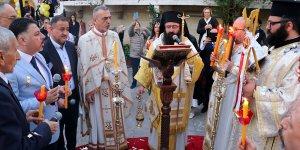 Hatay'da Ortodoks kiliselerinde Noel ayini yapıldı