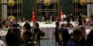 Erdoğan şehit aileleriyle iftarda bir araya geldi