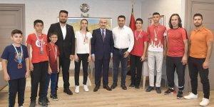 TÜGVA İl Başkanı Emrah Sancar Vali Demirtaş'ı Ziyaret Etti