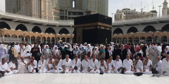 Adana'dan Giden Ramazan Umrecileri Kabe'de..