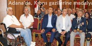 Adana'da, Kıbrıs gazilerine madalya ve berat