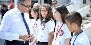 """Mersin'de """"Geleceğin Yazarları"""" projesi"""