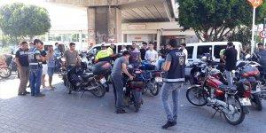 Adana'da motosiklet ve elektrikli bisiklet denetimleri
