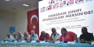 """""""Hababam Sınıfı""""nın oyuncuları Mersin'de"""