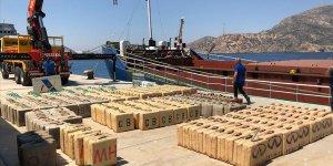 Türk polisinin istihbaratıyla 12 ton uyuşturucu ele geçirildi