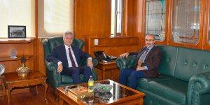 Vali Demirtaş Çukurova Üniversitesi Rektörünü Ziyaret Etti