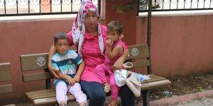 Eşinin evden kovduğu iddia edilen kadın polise sığındı