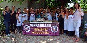 Adana'daki kadınların ürünleri büyük marketlerin raflarını süsleyecek..