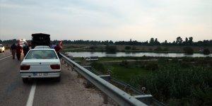 Balık tutmak için Ceyhan Nehri'ne giren genç kayboldu
