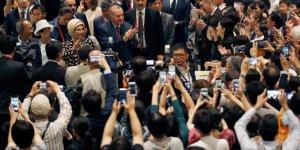 Erdoğan 'Hazineler ve Osmanlı İmparatorluğu'nda Lale Geleneği' temalı sergiyi ziyaret etti