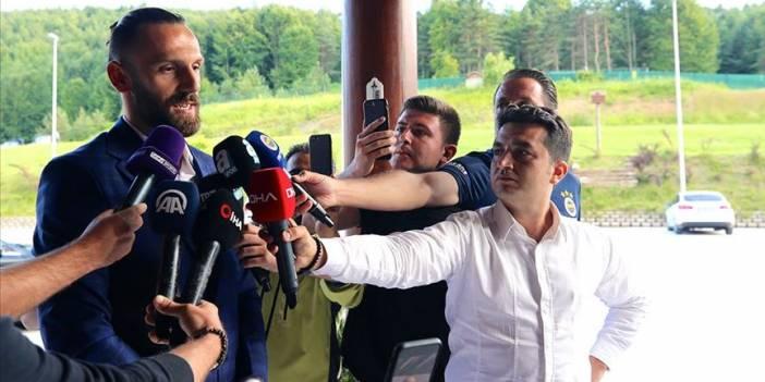 Muric: Fenerbahçe tarihine adımı altın harflerle yazdırmak istiyorum