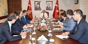 Adana'da otobüs kazalarının önlenmesine yönelik bilgilendirme toplantısı yapıldı