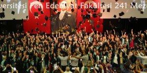 Çukurova Üniversitesi Fen Edebiyat Fakültesi 241 Mezununu Uğurladı
