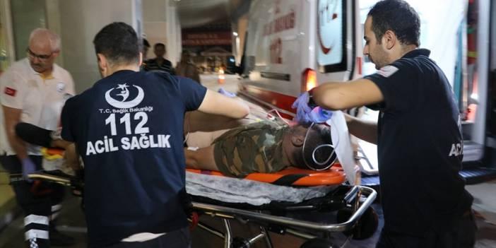 Mersin'de hastanede kazan dairesinde oksijen tüpü patladı: 5 yaralı