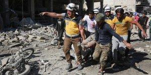 İdlib'e hava saldırıları: 5 ölü, 10 yaralı