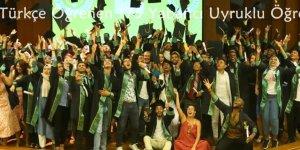 ÇÜ TÖMER'den Türkçe Öğrenen 175 Yabancı Uyruklu Öğrenci Mezun Oldu