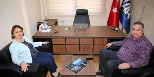 CHP Adana Milletvekili Şevkin'den AA'ya ziyaret