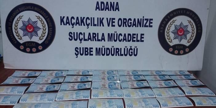 Adana'da sahte para operasyonu