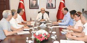 Adana'da kaçak yapılaşmaya yönelik toplantı