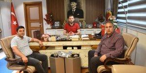 Ceyhan Belediye Başkanı Aydar'a ziyaret