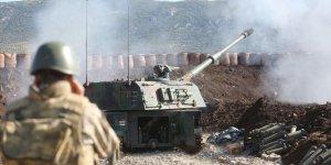 Afrin'deki üs bölgesine teröristlerden saldırı