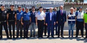 Vali Demirtaş Görevi Başındaki Güvenlik Birimlerinin Bayramını Kutladı