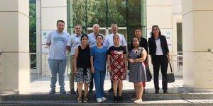 İş Teftiş Adana Grup Başkanlığı Müfettişleri, ÇİSAM'ı Ziyaret etti