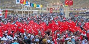 'Malazgirt Zaferi kutlamalarına 100 bin kişi katıldı'