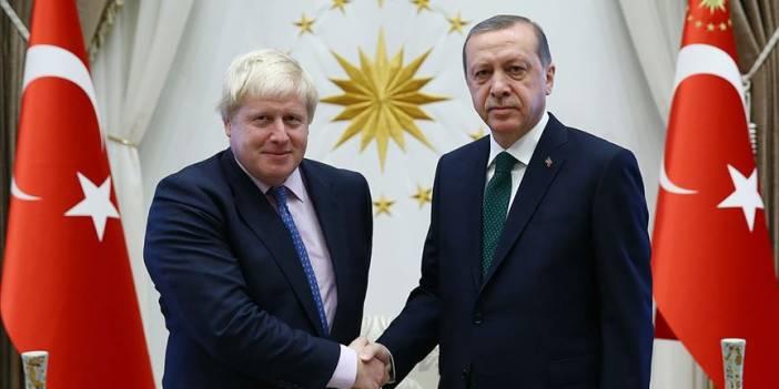 Erdoğan ile Boris Johnson telefonda görüştü